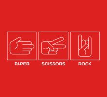 Paper, Scissors, Rock! One Piece - Short Sleeve