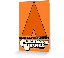 A Clockwork Orange I Greeting Card