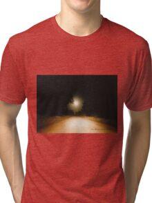 Moonrise on Melrose © Vicki Ferrari Tri-blend T-Shirt