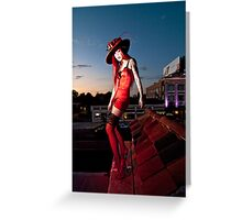 Dare Devil Greeting Card