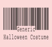 "Halloween ""Generic Halloween Costume"" T-Shirt One Piece - Long Sleeve"