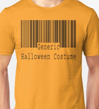 "Halloween ""Generic Halloween Costume"" T-Shirt Unisex T-Shirt"