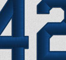 42 - Jackie (alt version) Sticker