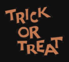 "Halloween ""Trick or Treat"" T-Shirt Baby Tee"