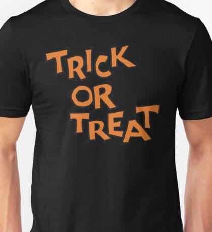 "Halloween ""Trick or Treat"" T-Shirt Unisex T-Shirt"