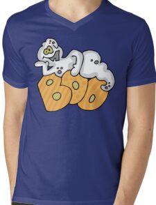 "Halloween ""Boo"" T-Shirt Mens V-Neck T-Shirt"