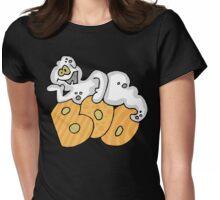 """Halloween """"Boo"""" T-Shirt Womens Fitted T-Shirt"""