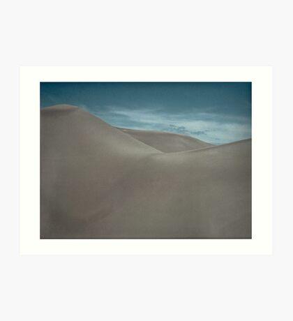 Silently Among the Sand Dunes Art Print