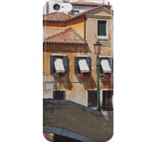 Venice - House by a canal iPhone Case/Skin