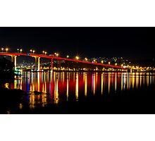 Red Bridge Photographic Print