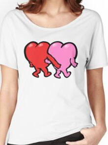 "Valentine's Day ""Watch Your Hands"" T-Shirt Women's Relaxed Fit T-Shirt"