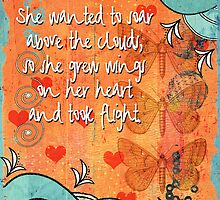 Wings On Her Heart by Debbie-Anne Parent