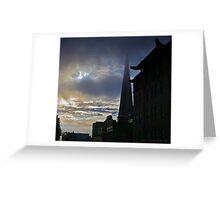 Jackson Street Sun and Fog Greeting Card