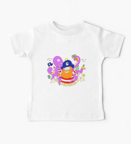 Pirate's need Vegetables Baby Tee