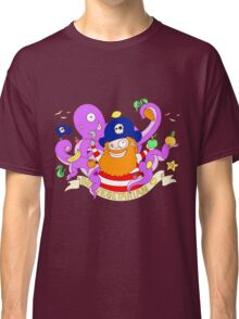 Pirate's need Vegetables Classic T-Shirt