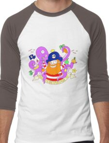 Pirate's need Vegetables Men's Baseball ¾ T-Shirt