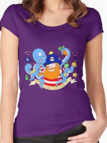 Pirate's need Vegetables Women's Fitted Scoop T-Shirt
