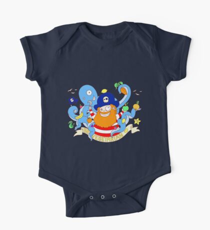 Pirate's need Vegetables One Piece - Short Sleeve