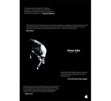 Steve Jobs Poster Photographic Print