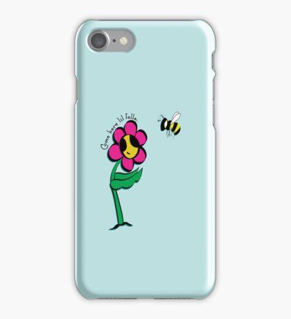 Come here lil fella - Little Daisy iPhone Case/Skin