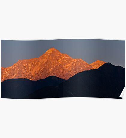 Himalayan Alpenglow Poster