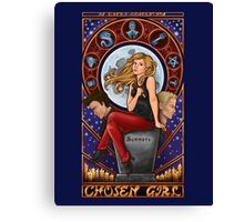 Chosen Girl Canvas Print