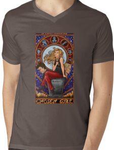Chosen Girl Mens V-Neck T-Shirt