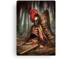 The Battle and the Bird Canvas Print