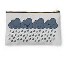 Happy Rain Clouds Studio Pouch
