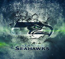 Seattle Seahawks by osoep008