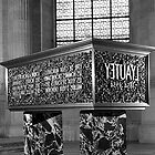 BW France Paris Marshal's Lyautey Tomb 1970s by blackwhitephoto