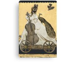Magic Masquerade Train - Charlotte & her Cello Canvas Print