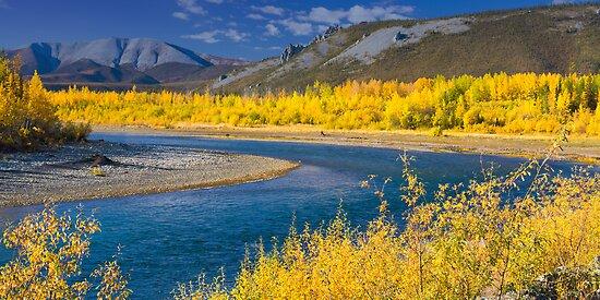 Ogilvie River by Yukondick