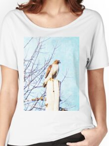 Red Tail Hawk Women's Relaxed Fit T-Shirt