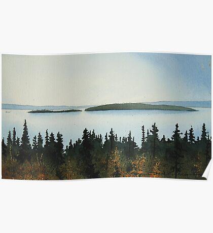 Cat Islands Poster