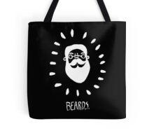 Beards. Tote Bag