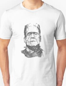 Frankenstein Sketch Unisex T-Shirt