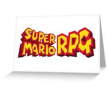 Super Mario RPG Greeting Card