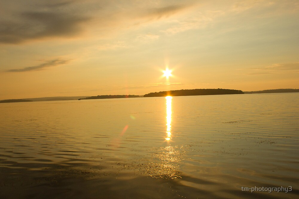 Rick Lake Ontario Sunset by tm-photography3