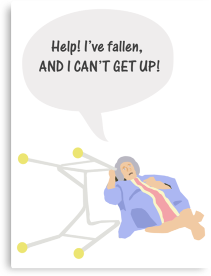 Help I've fallen and I can't get up! by bassdmk