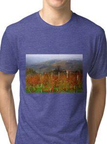 Autumn in the Langhe  Tri-blend T-Shirt