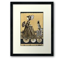 Magic Masquerade Train -  Victoria & her Baritone Framed Print