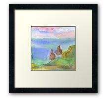 Sintra. Pedra da Ursa Framed Print