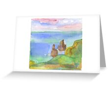 Sintra. Pedra da Ursa Greeting Card