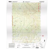 USGS Topo Map Washington State WA Larch Mountain 241948 2000 24000 Poster