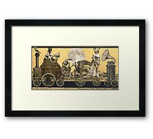 Magic Masquerade Train Framed Print