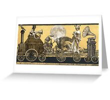 Magic Masquerade Train Greeting Card