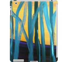 Abstract tree landscape iPad Case/Skin