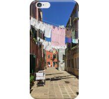 Venice - Clothesline iPhone Case/Skin