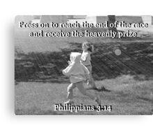 """""""Philippians 3:14"""" by Carter L. Shepard Canvas Print"""